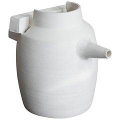Promesas De Tierra Turned Ceramic Milk Jug 01