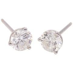 Prong Set Diamond Studs