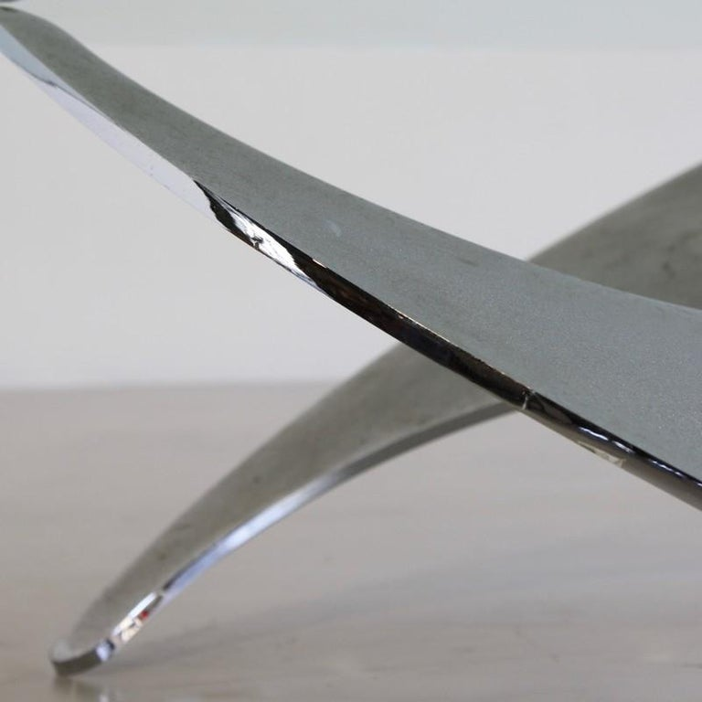 Italian Propeller Table by Luciano Campanini, 1973 For Sale