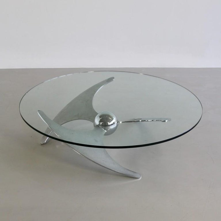 Propeller Table by Luciano Campanini, 1973 In Good Condition For Sale In Berlin, Berlin