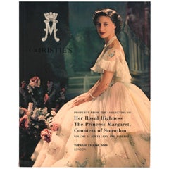 Property from the Collection of HRH the Princess Margaret, Christie's Catalgues