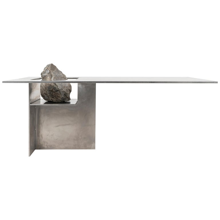 Proportions of Stone Table by Lee Sisan For Sale