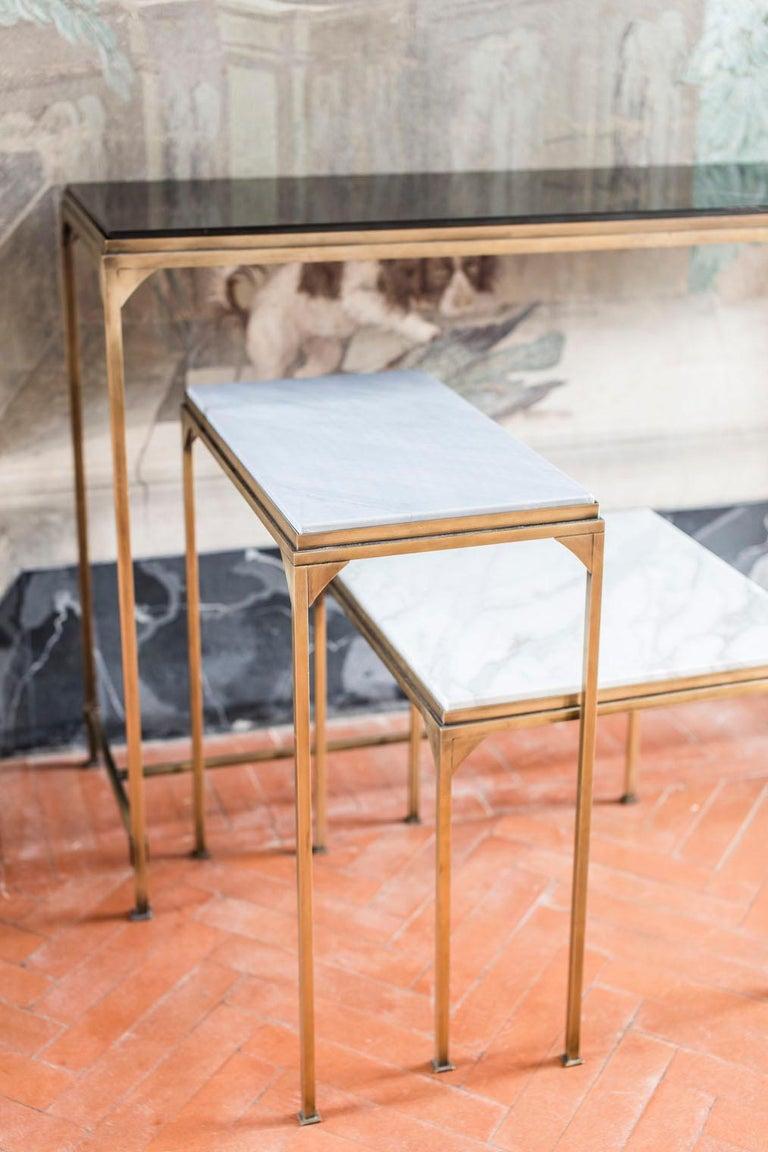 Italian Prosecco Small Side Table For Sale