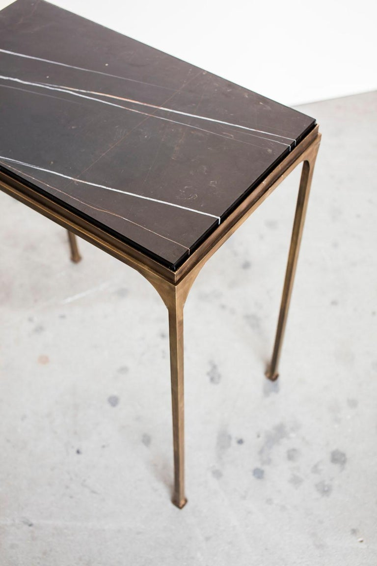 Contemporary Prosecco Small Side Table For Sale