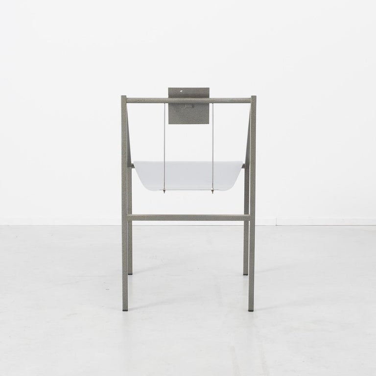 Prototype Chair Attributed to Mario Botta Italy, 1980s In Good Condition For Sale In London, GB