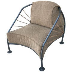 Prototype Curved Lounge Chair