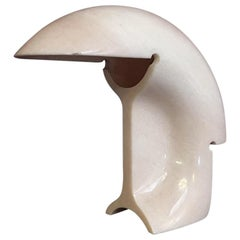 Prototype of Italian Pink Portugal Marble Biagio Lamp by Scarpa for Flos, 1968