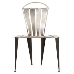 Prototype Steel Chair by Tom Dixon, 1989