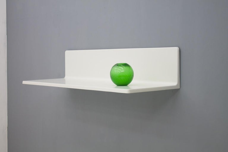 Fiberglass Prototype Wall Board, Shelf by Otto Zapf, Germany, 1968 For Sale