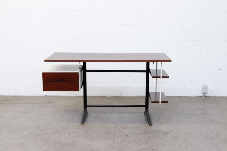 Prouve Inspired Modernist Writing Desk 2