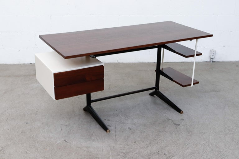 Prouve Inspired Modernist Writing Desk 3