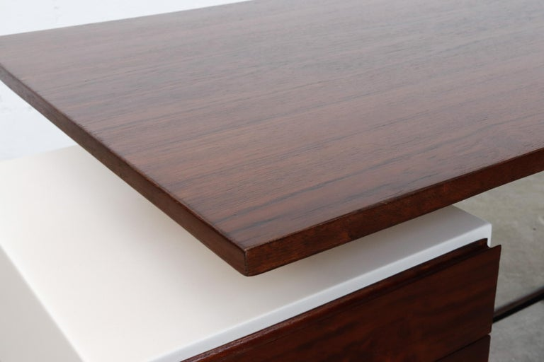 Prouve Inspired Modernist Writing Desk 4
