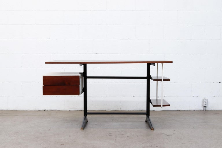 Dutch Prouve Inspired Modernist Writing Desk