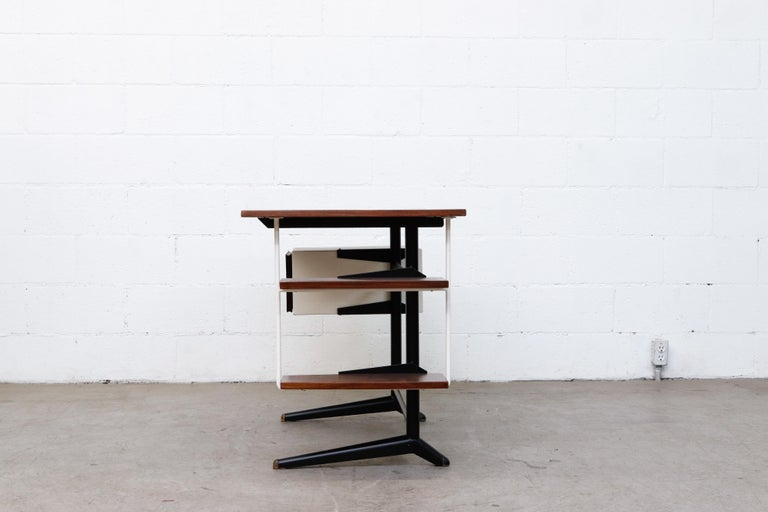 Prouve Inspired Modernist Writing Desk In Good Condition In Los Angeles, CA
