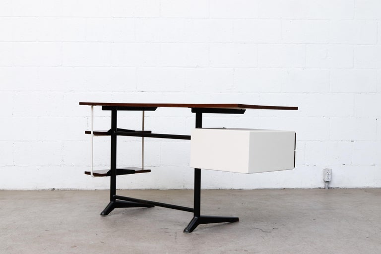 Prouve Inspired Modernist Writing Desk 1