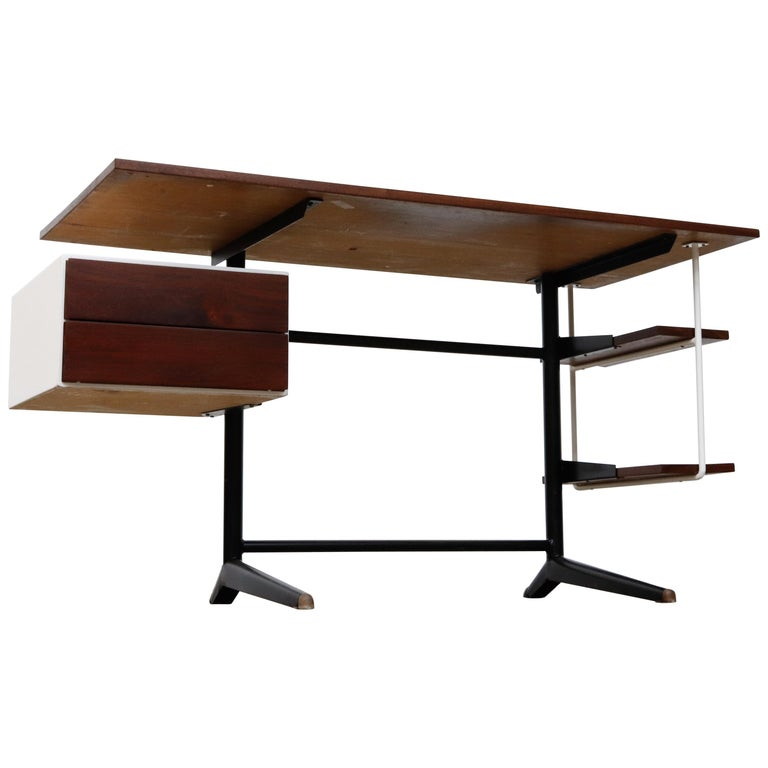 Prouve Inspired Modernist Writing Desk