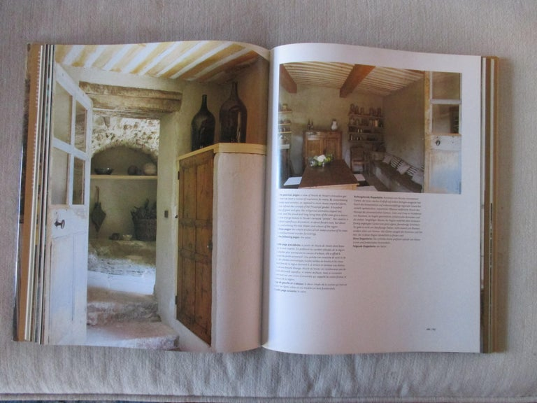 European Provence Interiors Hardcover Book For Sale