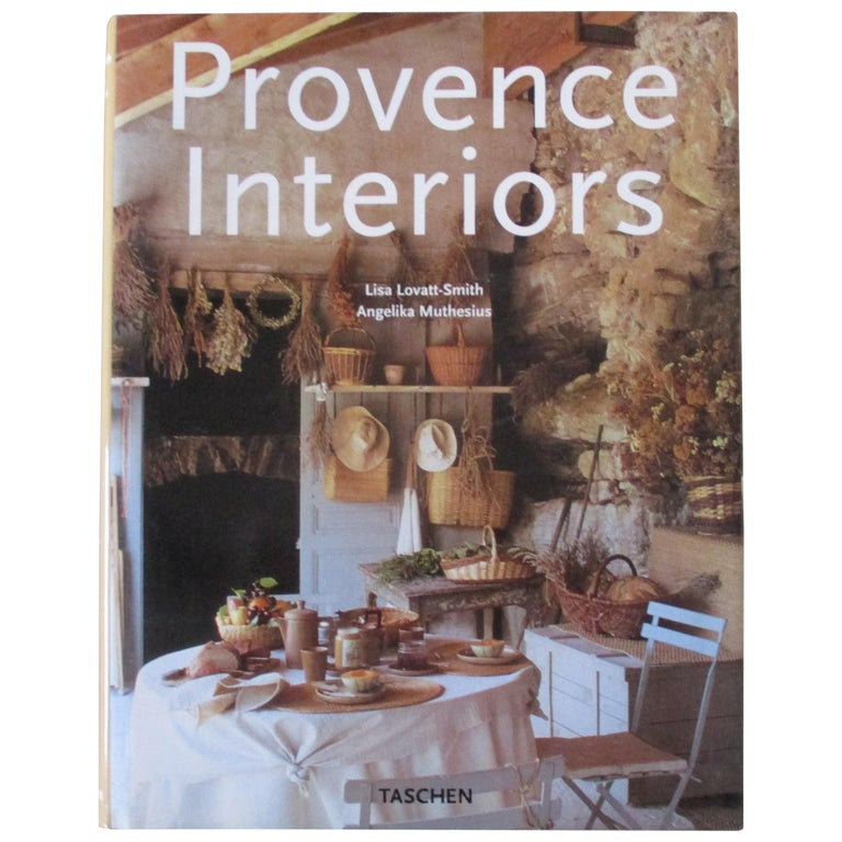 Provence Interiors Hardcover Book For Sale
