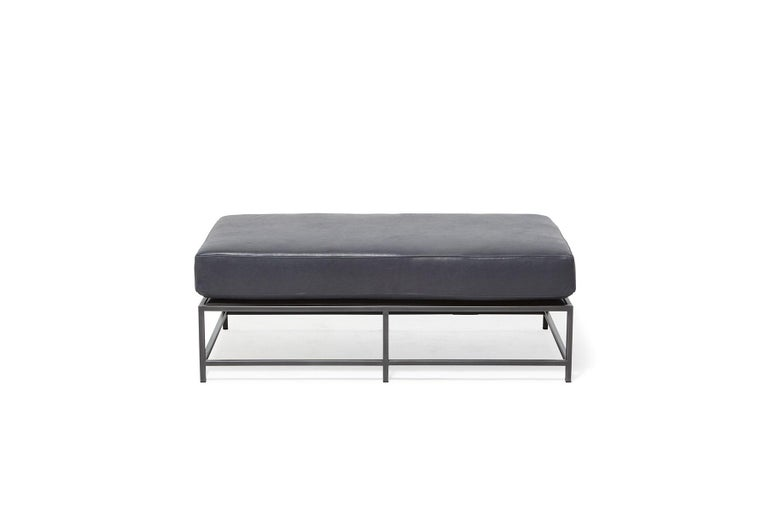The Inheritance Bench is a versatile piece that can be used as a chaise extension on any sofa, as an independent seating option or as a large upholstered coffee table. 