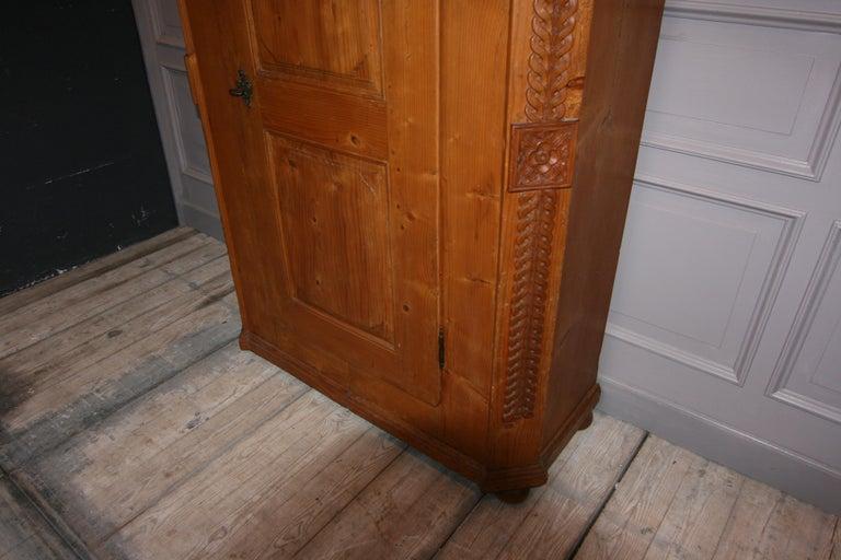 Provincial Cabinet Made of Pine, Empire Period circa 1820 For Sale 5