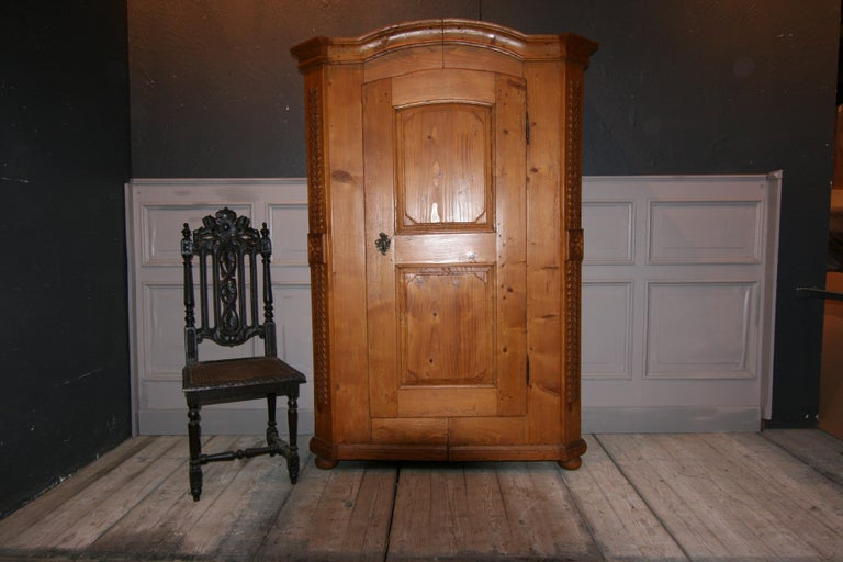 German Provincial Cabinet Made of Pine, Empire Period circa 1820 For Sale