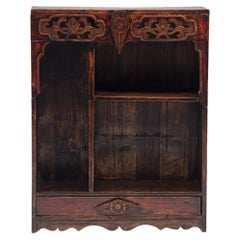 Provincial Chinese Collector's Shelf, c. 1900