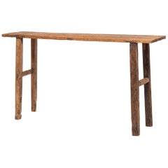Provincial Chinese Dubar Console Table