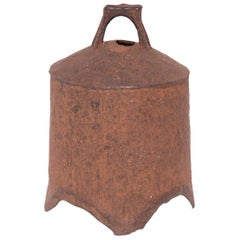 Provincial Chinese Iron Bell, circa 1850
