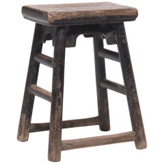 Provincial Chinese Time Out Stool, circa 1900