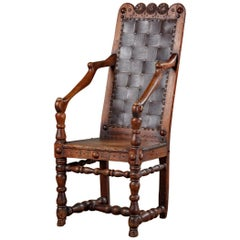 Provincial French Wood Chair
