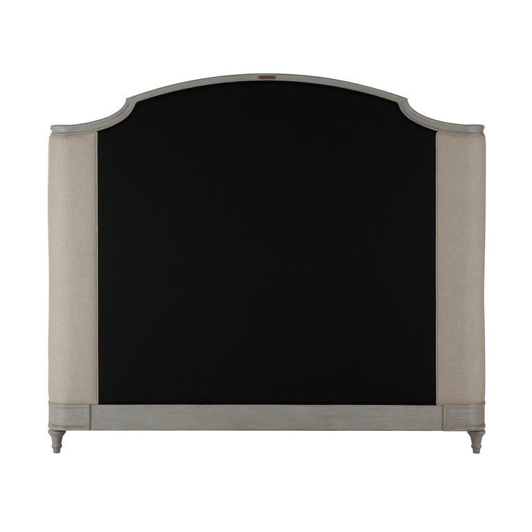 Contemporary Provincial Painted King Size Bed For Sale