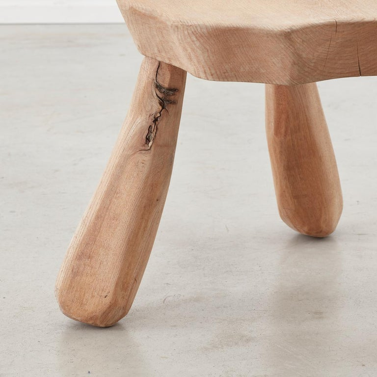 Provincial Wooden Stools/Tables France, Late 20th Century 4