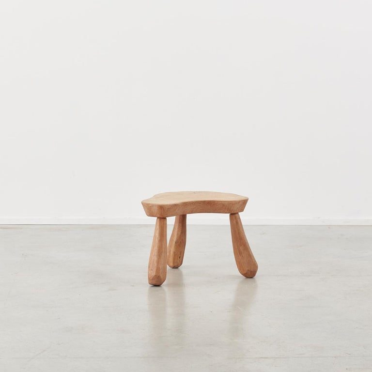 Provincial Wooden Stools/Tables France, Late 20th Century In Excellent Condition In London, GB
