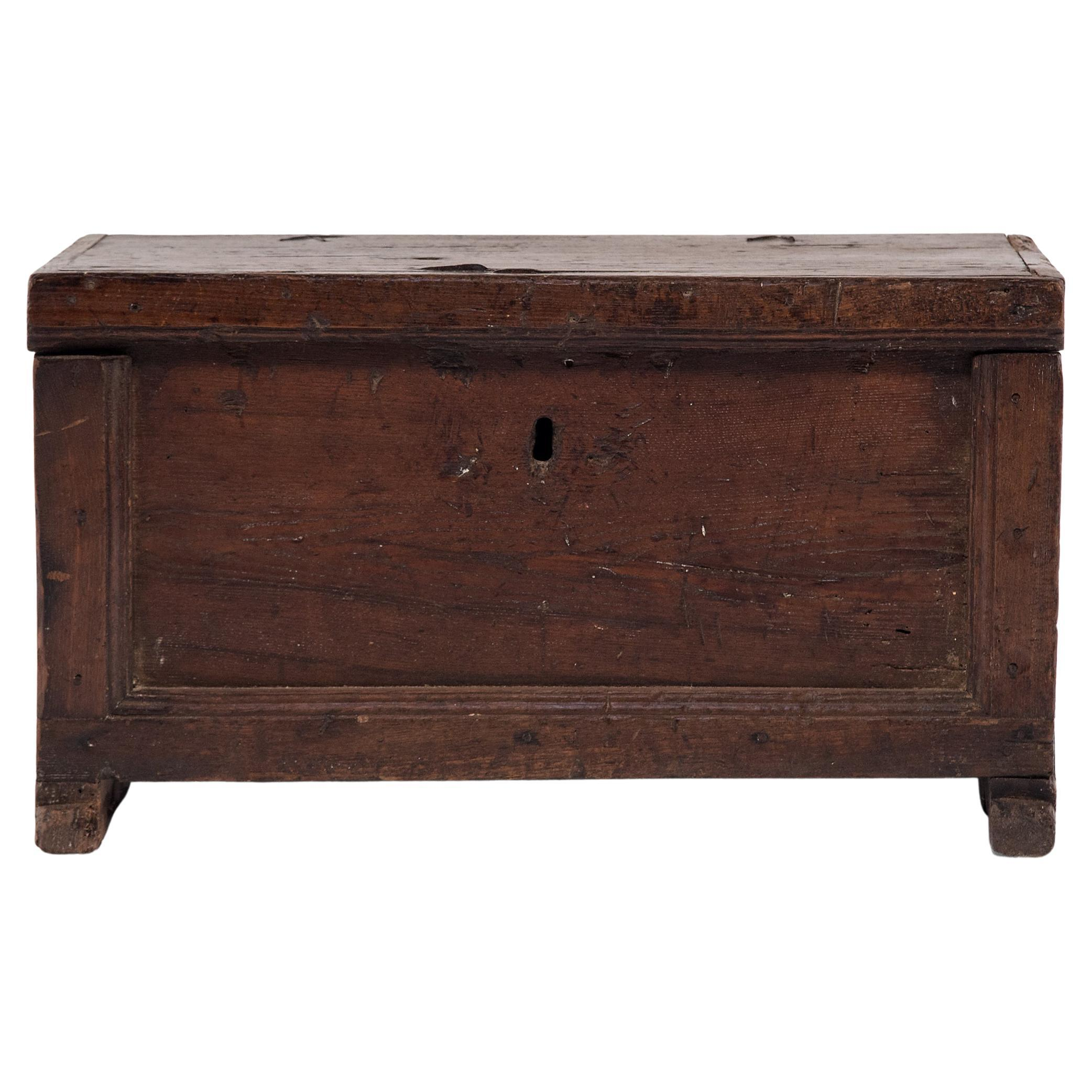 Provincial Wooden Storage Trunk