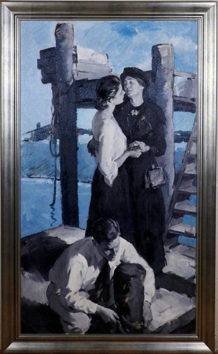 The Farewell - Painting by Pruett Alexander Carter