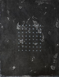 Constellation - 20th Century, Mixed media on board by Prunella Clough