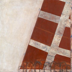 Oblique I - 20th Century, Oil on canvas by Prunella Clough