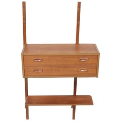 PS Wall Unit Danish Shelving System Chest of Drawers Floating Randers