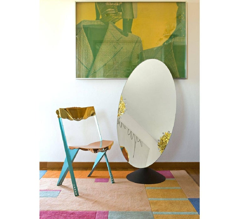 Modern Psiche Table Mirror by Phillippe Starck for Driade For Sale
