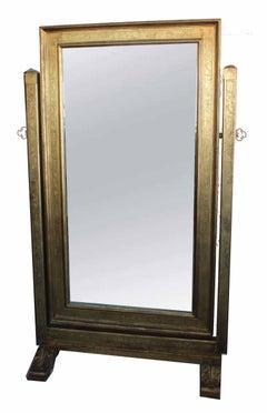 Psyche Mirror, Italian Renaissance, Gilt Wood