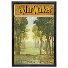 "Pub Sign ""The Grove Tavern (Taylor Walker)"""