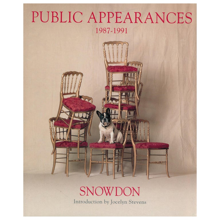 Public Appearances 1987-1991, a Book of Photographs by Lord Snowdon For Sale