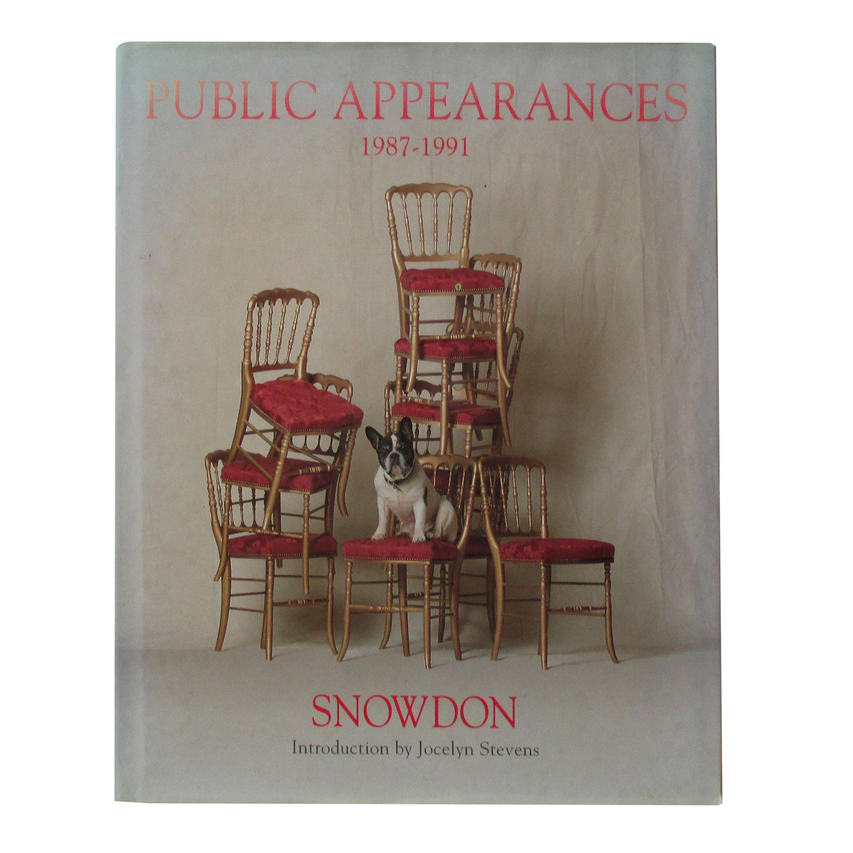 Public Appearances 1987-1991 Snowden Hard Cover Book