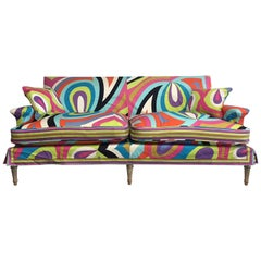 Pucci  Neo Classic Style Sofa From Maison Carlhian