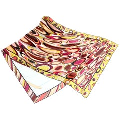 Pucci Silk Oblong Scarf Vintage