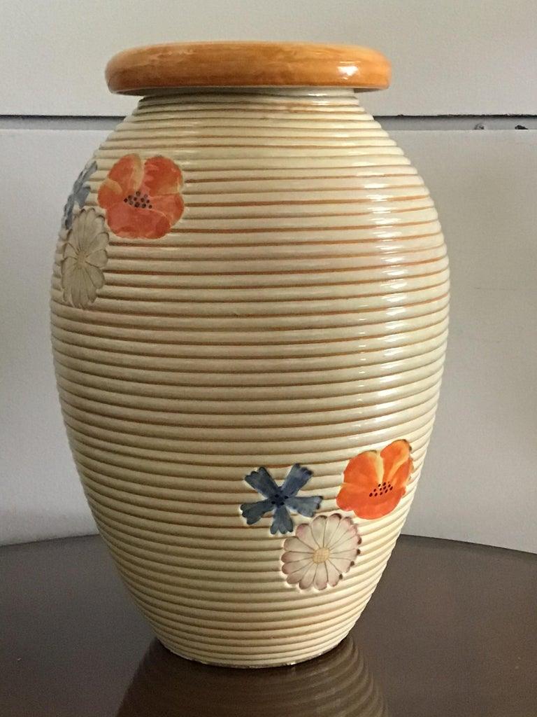 Pucci Umbertide Vase /Umbrella Stand Ceramic, 1950, Italy For Sale 5