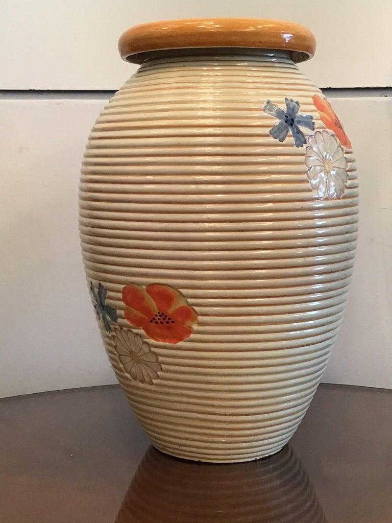 Pucci Umbertide Vase /Umbrella Stand Ceramic, 1950, Italy For Sale 8