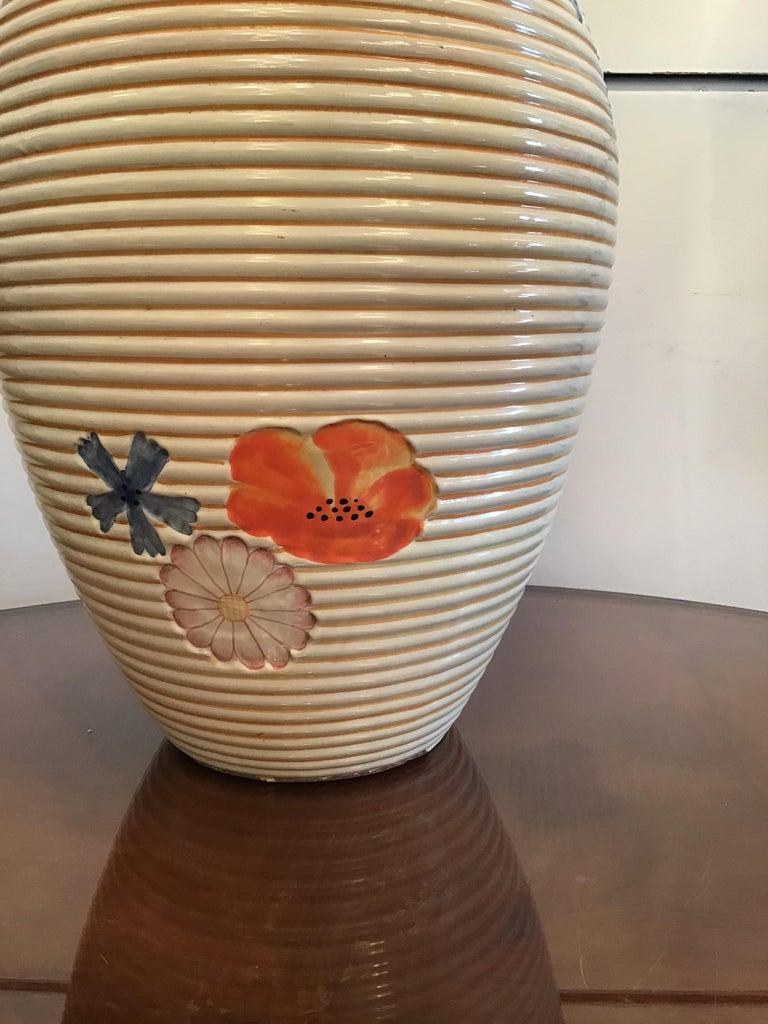 Pucci Umbertide Vase /Umbrella Stand Ceramic, 1950, Italy For Sale 12