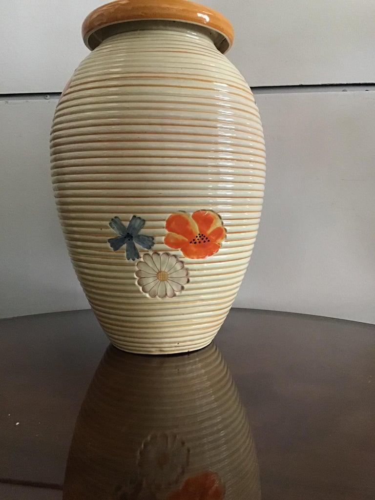Italian Pucci Umbertide Vase /Umbrella Stand Ceramic, 1950, Italy For Sale