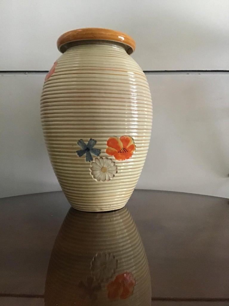 Mid-20th Century Pucci Umbertide Vase /Umbrella Stand Ceramic, 1950, Italy For Sale